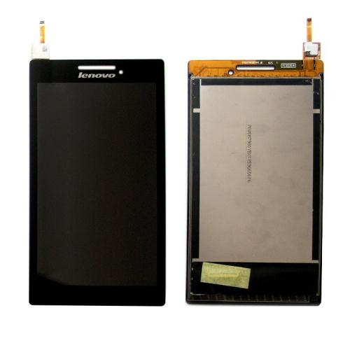 LCD with Touch Screen Lenovo A7-10L Tab 3 7'' Black (OEM)