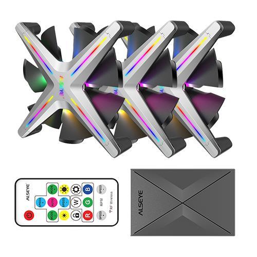 Case Cooler 12cm RGB-Fan Kit Alseye X12