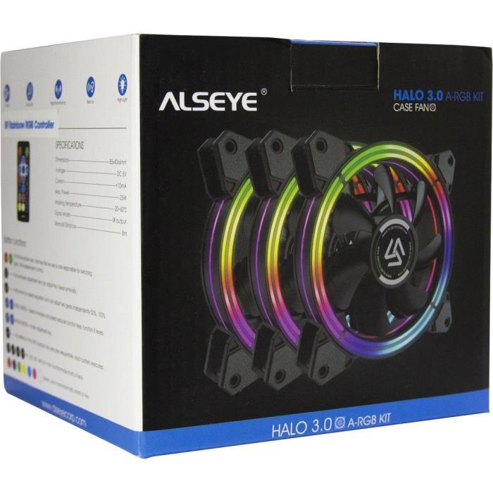 Case Cooler 12cm RGB-Fan kit Alseye HALO 3.0
