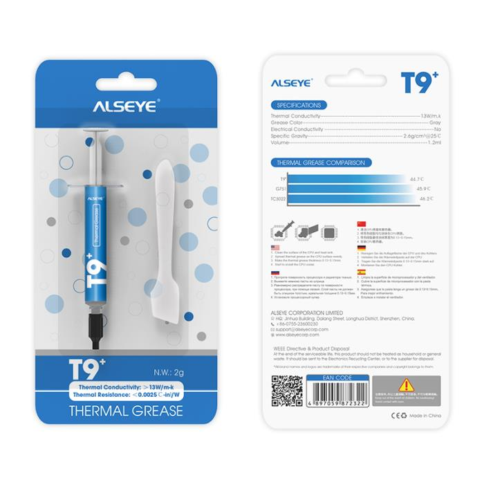 Thermal Grease Alseye T9