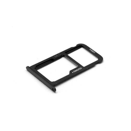 Sim & SD Card Holder Huawei P10 (Dual SIM) Graphite Black (OEM)