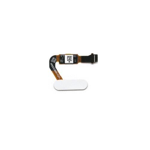 Home Button Flex Cable & Fingerprint Sensor Huawei P20 White (OEM)