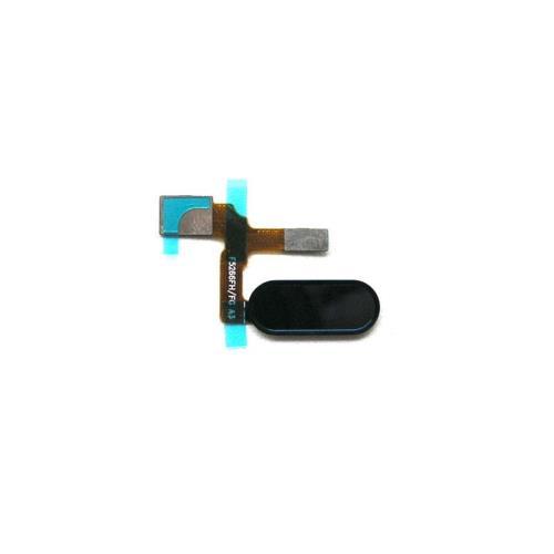 Home Button Flex Cable & Fingerprint Sensor Honor 9 Midnight Black (OEM)
