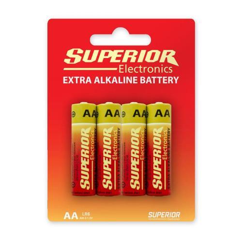 Alkaline Battery Superior AA LR06 (4 pcs.)
