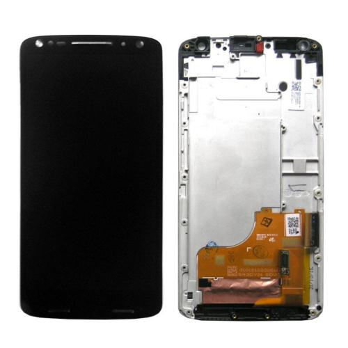 LCD with Touch Screen & Front Cover Motorola Moto X Force Black (OEM)