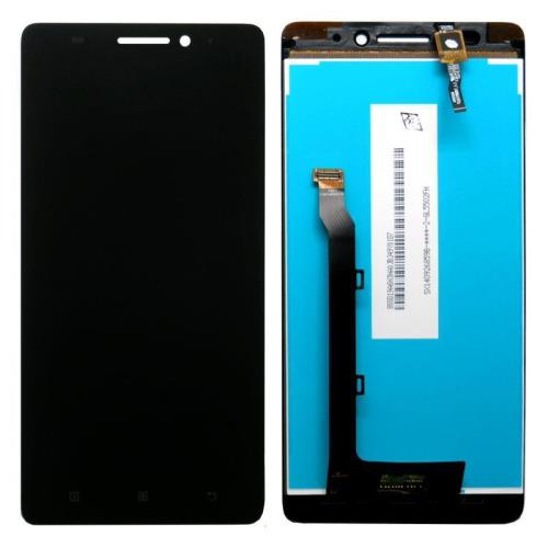 LCD with Touch Screen Lenovo A7000-A Black (OEM)