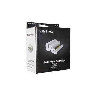 Photo Paper & Toner BPC-36 for Photo Printer Bolle BP-100