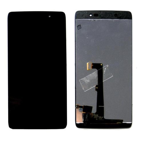 LCD with Touch Screen Alcatel One Touch Idol 4 Black (OEM)