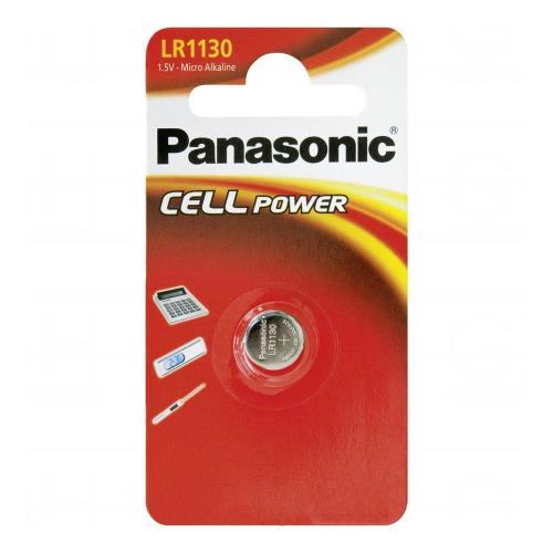 Micro Alkaline Button Cells Panasonic LR1130 (1 pc)