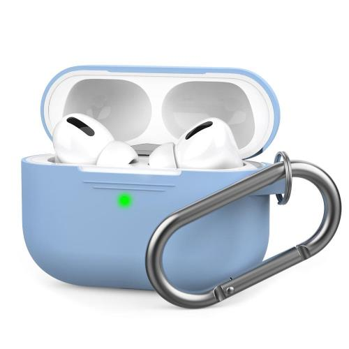 Silicon Case AhaStyle PT-P1 Apple AirPods Pro Premium with Hook Sky Blue