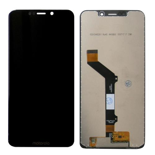 LCD with Touch Screen Motorola Moto One Black (OEM)