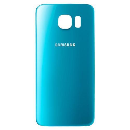 Battery Cover Samsung G920 Galaxy S6 Blue Topaz (OEM)