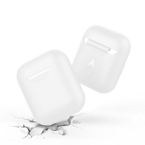 Silicon Case AhaStyle PT02 Apple AirPods White