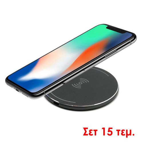 Set 15pcs of Wireless Charging Pad inos Grey 1A/5W