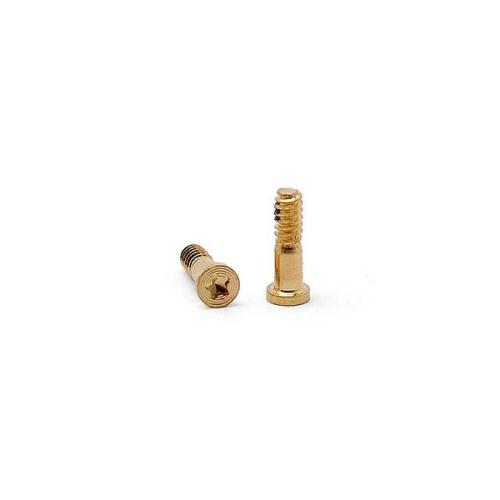 Screw set for Charger Connector Apple iPhone 5S Gold (2 pcs) (OEM)