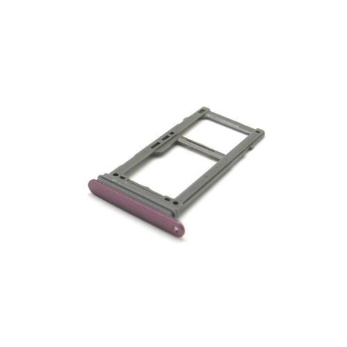 Sim & SD Card Holder Samsung G960F Galaxy S9 Purple (Original)