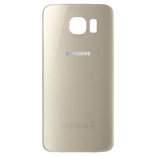 Battery Cover Samsung G925 Galaxy S6 Edge Gold (Original) 1
