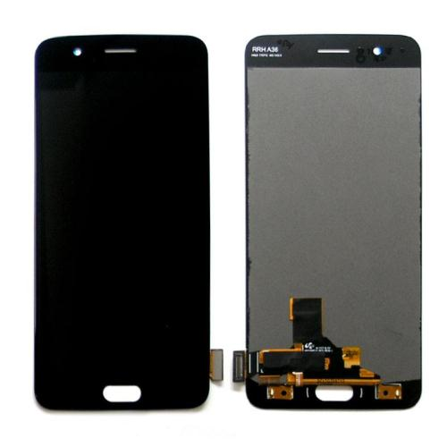 LCD with Touch Screen OnePlus 5 Black (OEM)