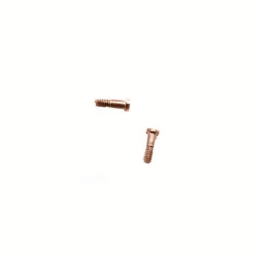 Screw set for Apple iPhone 7 Gold (2 pcs) (OEM)